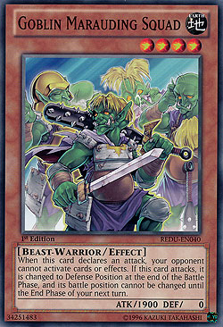 Goblin Marauding Squad Return of the Duelist Boosterserien
