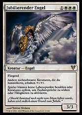 Jubilierender Engel