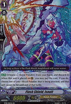 Flash Shield, Iseult