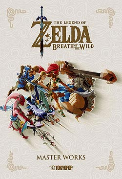 Artbook Hardcover The Legend of Zelda: Breath of the Wild German | Unlimited