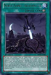 Yugioh NKRT-de022 Noble armes du destin édition limitée