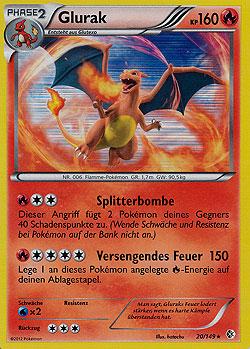 Glurak Pokemon Karte.Glurak Evolution Boosterserien Einzelkarten Pokemon Mawo Cards