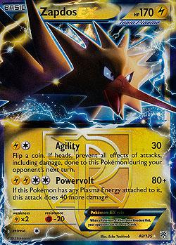 Zapdos ex boosterserien einzelkarten pokemon mawo cards - Carte pokemon electhor ex ...