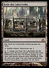 Ende des Labyrinths