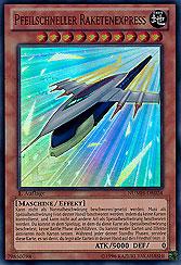 Pfeilschneller Raketenexpress