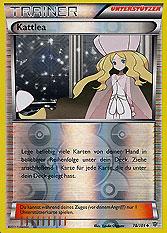 Pokemon Einzelkarten Boosterserien Plasma-Blaster Caitlin ...