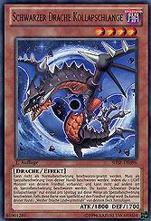 Schwarzer Drache Kollapschlange