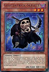 Geistertrick-Skelett