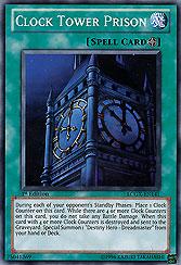 Yu Gi Oh Duelist Pack 5 Aster Phoenix Dp05 En016 Clock Tower Prison Games Single Cards