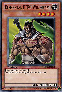 Elemental Hero Wildheart Elemental HERO Wildheart