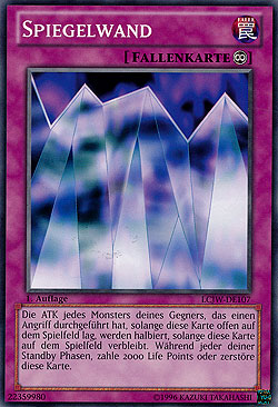 spiegelwand legendary collection 4 legendary collections einzelkarten yu gi oh mawo cards. Black Bedroom Furniture Sets. Home Design Ideas