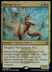 Mantis-Reiter