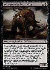 Verwesendes Mastodon
