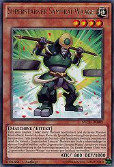 Superstarker Samurai Waage