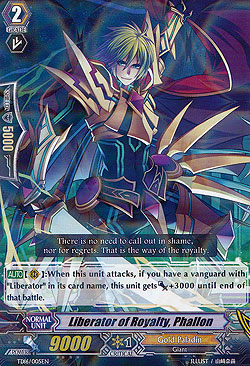 Cardfight! Vanguard Trial Deck Divine Judgment of the Bluish Flames English