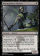 Marangfluss-Skelett