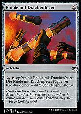Phiole mit Drachenfeuer