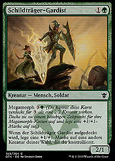 Schildträger-Gardist