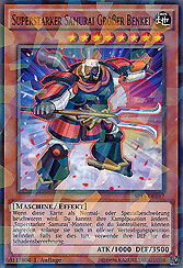 Superstarker Samurai Großer Benkei