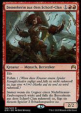 Berserkerin aus dem Schorf-Clan
