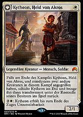 Kytheon, Held von Akros