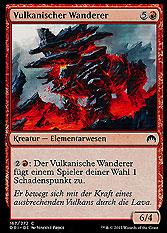 Vulkanischer Wanderer