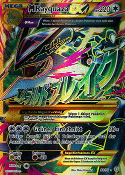 M Rayquaza Ex Full Art M Rayquaza EX Ewiger A...