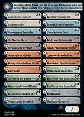 Double-Faced Card Proxy Checklist (Version 1)