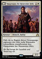 Hauptmann der Hennweier-Miliz // Anführerin des Westtal-Kults