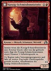 Kessig-Schmiedemeisterin // Flammenherz-Werwölfin