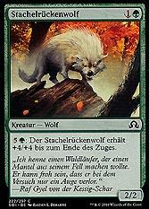 Stachelrückenwolf