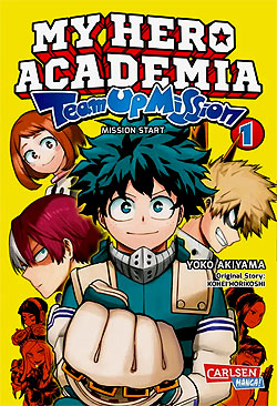 Band 1 My Hero Academia Team Up Mission Band 1 German | Unlimited