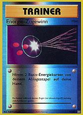Energie-Zugewinn