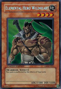 Elemental Hero Wildheart Elemental Hero Wildhea