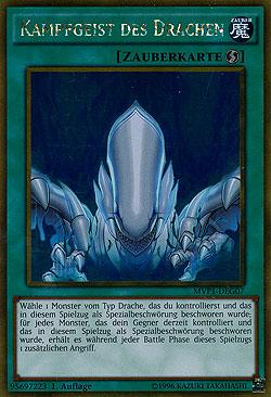 1x Kampfgeist des Drachen MVP1 The Darkside of Dimensions Movie Yu-Gi-Oh