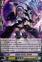 Battle Sister, Crepe