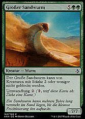 Großer Sandwurm