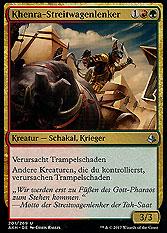 Khenra-Streitwagenlenker