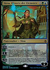 Nissa, Hüterin der Elemente