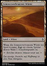 Sonnenverbrannte Wüste