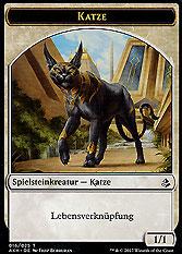 Spielsteinkreatur - Katze
