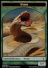 Spielsteinkreatur - Wurm