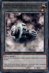 Antiker-Antrieb-Spielmarke