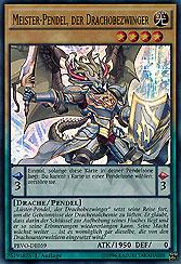 Meister-Pendel, der Drachobezwinger