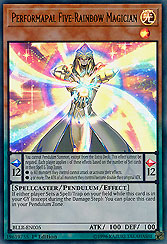 Performapal Five-Rainbow Magician