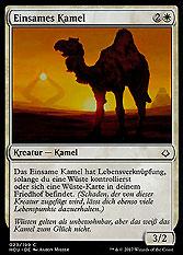 Einsames Kamel