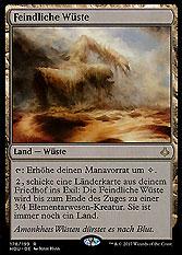 Feindliche Wüste