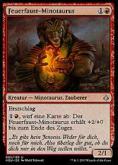 Feuerfaust-Minotaurus