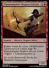 Flammenpfeil-Bogenschützin