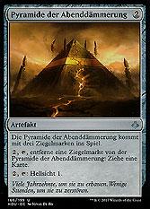 Pyramide der Abenddämmerung